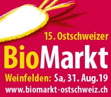 Ostschweizer Biomarkt 2019