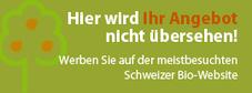 Werben auf bionetz.ch - Hier wird Ihr Angebot nicht übersehen...