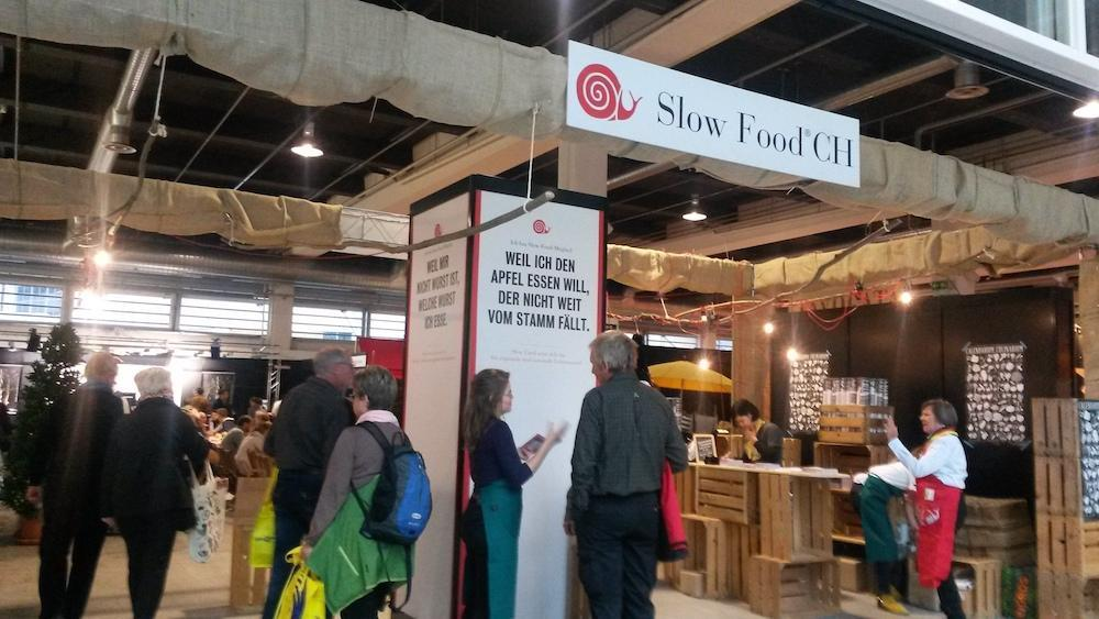 SF Stand Slow Food
