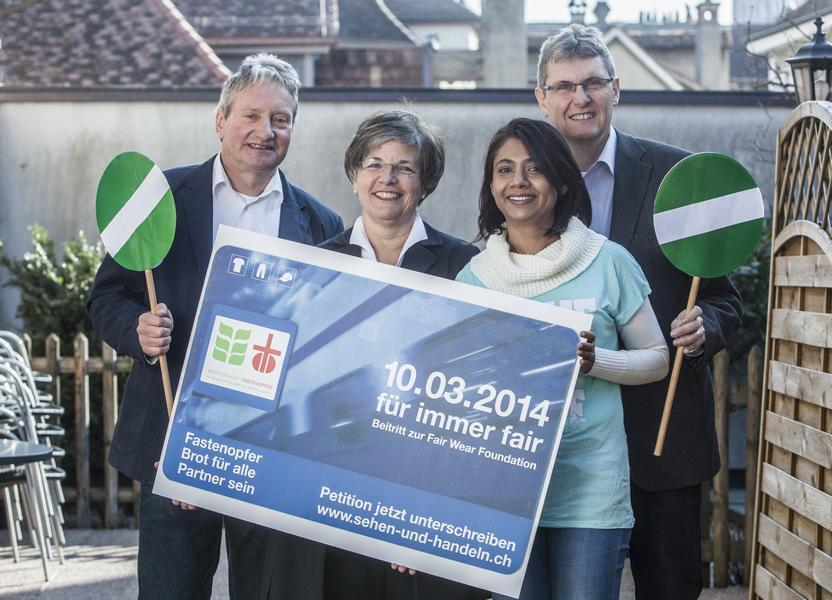 Fastenopfer 2014 lancierung petition d rev